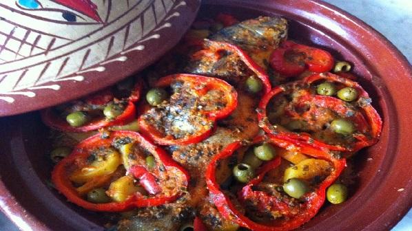 Tajine de sardines aux légumes