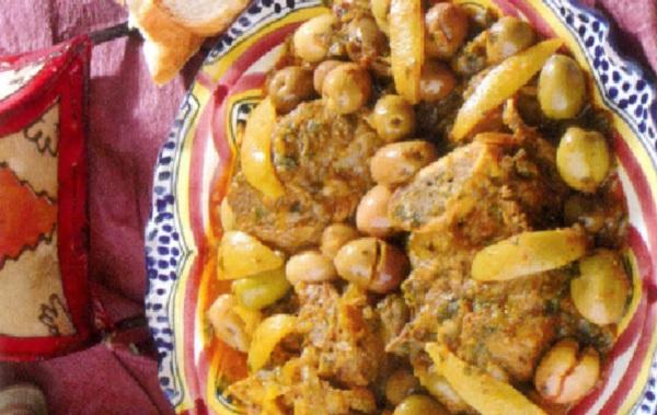 Tajine de veau aux olives