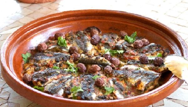 Tajine de sardines à la tomate