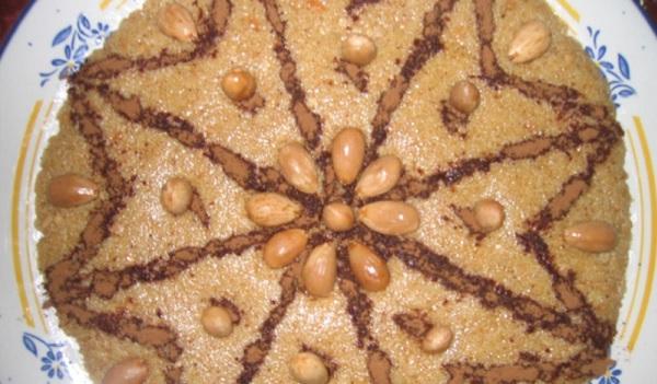 Tamina(Gâteau de semoule)