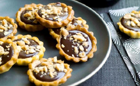 Tartelettes moelleuses au chocolat