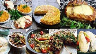 1 semaine de recettes faciles et rapides pour le dîner
