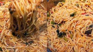 2 recettes de Spaghettis à la turque, le résultat est surprenant