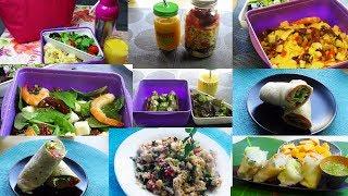 2 Semaines de Lunchbox:Idée repas à emporter au travail