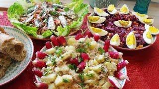 3 Salades de saison en plat principal ou accompagnement !