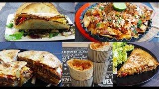 5 recettes mexicaines à la Tortilla