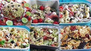 6 Salades de pâtes faciles et rapides