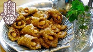Babouches aux sésame amandes et miel