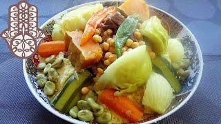 Couscous au boeuf et aux sept légumes