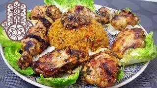 Cuisses de poulet grillées au four