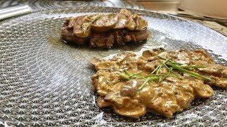 Filet de boeuf Rossini  et poêlée de champignons