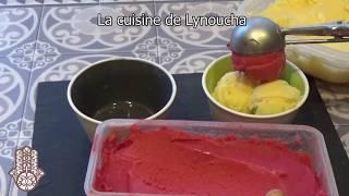 Frozen Yogurt (glace au yaourt) sans sorbetière avec 2  ingrédients