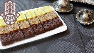 Gâteaux Arabesque aux dattes et chocolat