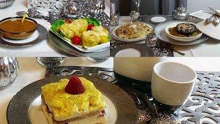 Idée d'un menu complet diner à la Marocaine