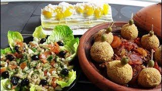 Idée repas déjeuner du dimanche convivial avec entrée, plat et dessert