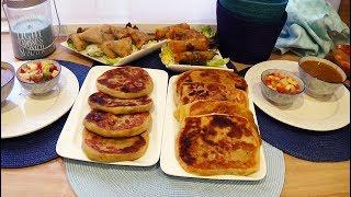Idées repas pour ramadan Msemen makhmar et brick