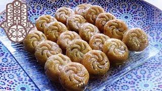 Makrout au four aux dattes et aux amandes