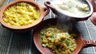 Marmite du pêcheur et riz safrané à l'espagnole Recette gourmande et facile