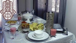Menu Ftour 1er jour du ramadan