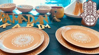 Menu Ftour et shour du ramadan Ultra rapide :Chorba légumes, brick, brochettes