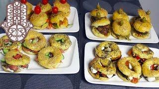 Mini Burger et Bagel pour l'Apéro