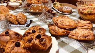 Msemen farcis au four 2 modèles pour ramadan