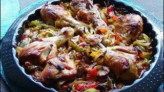 Pilons de poulet au four (recette facile et rapide)