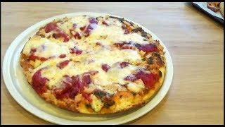 Pizza à la poêle épaisse et moelleuse