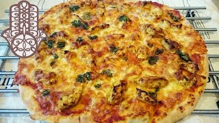 Pizza poulet tikka massala