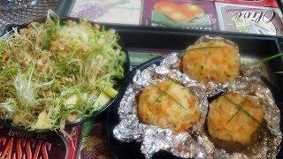 Pommes de terre au four au saumon fumé