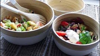 Recette de la salade césar au saumon grillé,  Salade complète facile