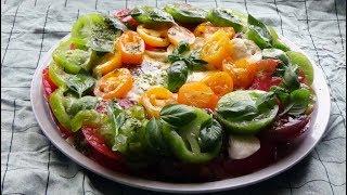 Recette de Tomates mozzarella la recette fraîche pour la canicule