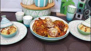 Repas du 15 ème jour du ramadan, nuit de mi