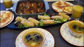 Repas du ramadan optimiser le temps 1 farce pour le plat et nems