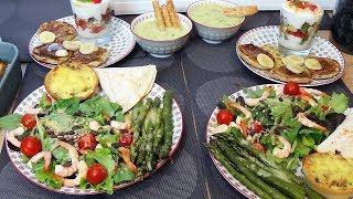 Repas du13éme jour du ramadan complet et équilibré