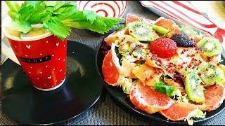 Salade nordique fraîcheur et saveur idéale repas d'été