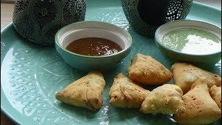 Samoussa indienne végétarienne